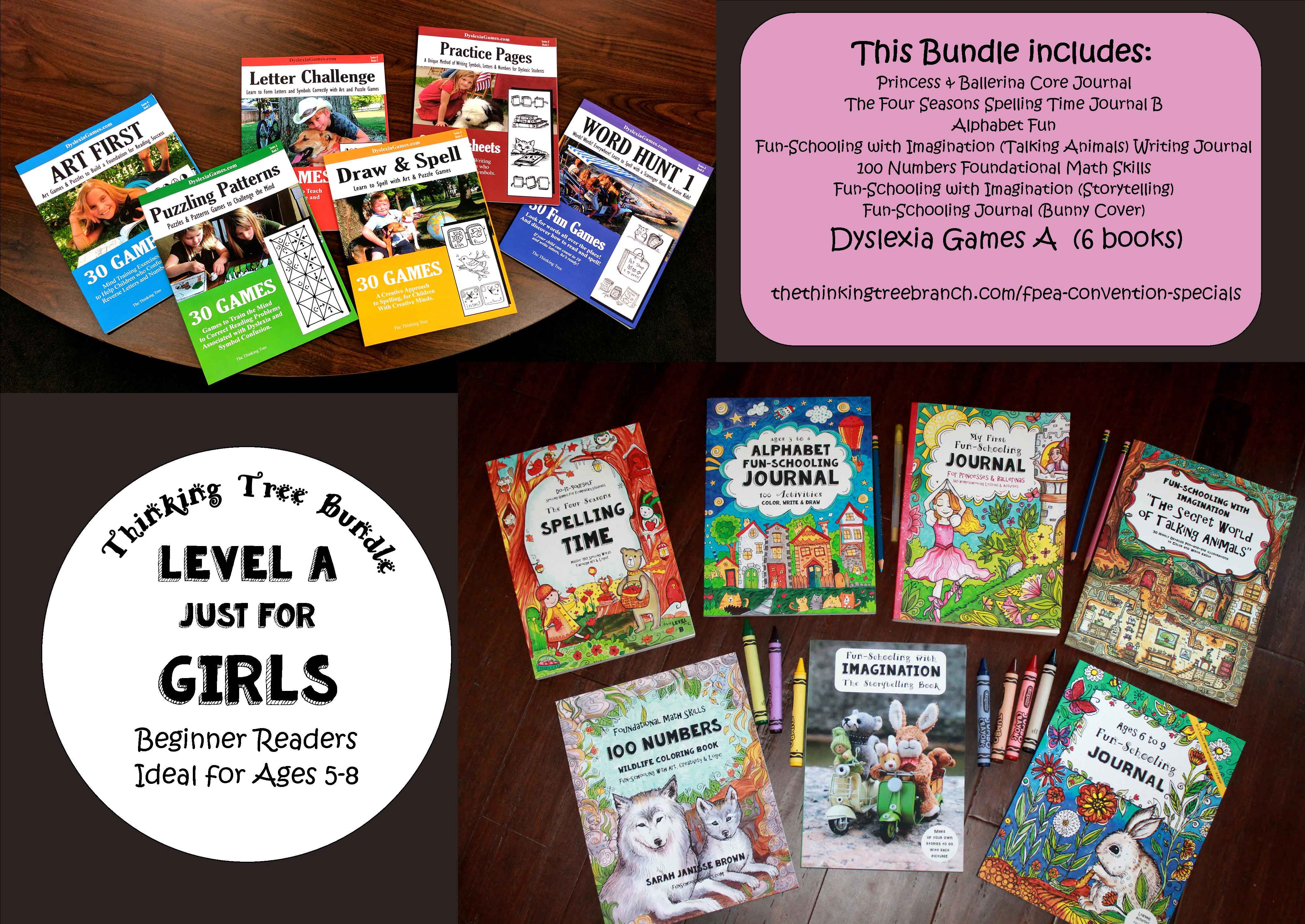 Shop bundles the thinking tree branch struggling reader writer girl bundle or if she doesnt like to read and write this bundle was originally created for an 8 year old girl thinking tree solutioingenieria Choice Image