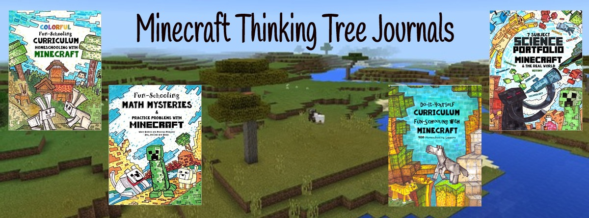 Super Fun to Learn with Minecraft Journals!!