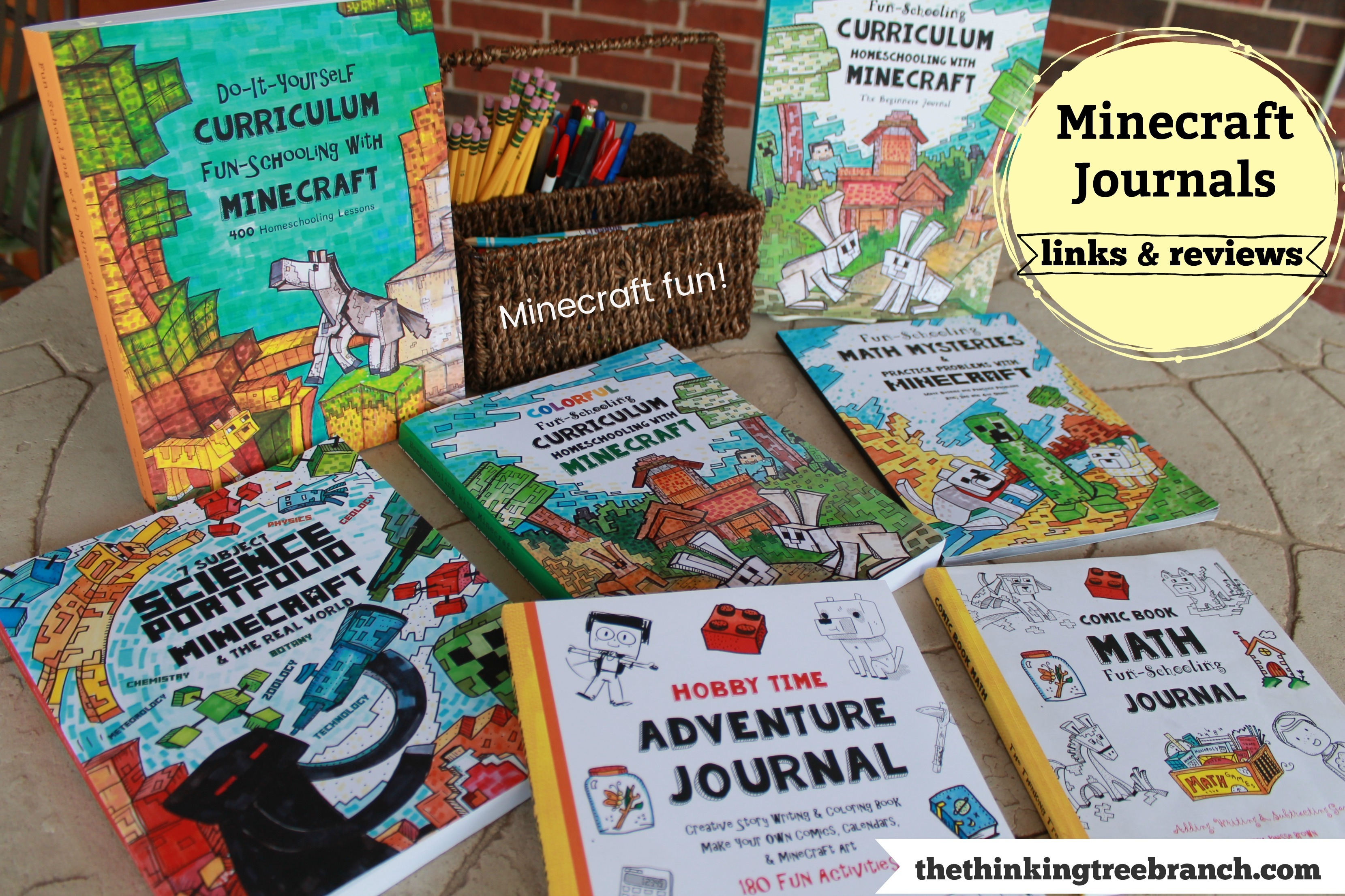 Minecraft Journals by The Thinking Tree