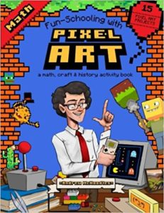 Pixel Art Math Thinking Tree Journal
