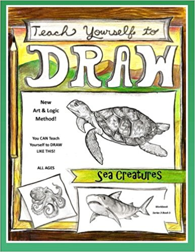 Teach Yourself to Draw Sea Creatures