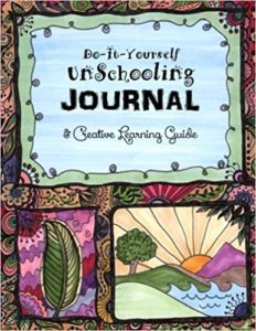 Unschooling Journal -Desert Cover