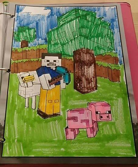 Minecraft fun schooling