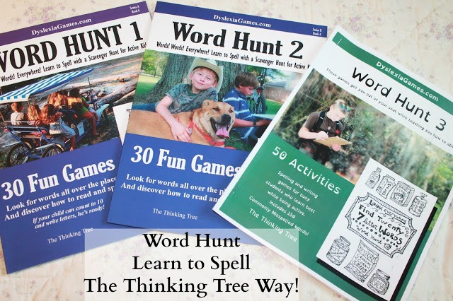 Word Hunt - Dyslexia Games