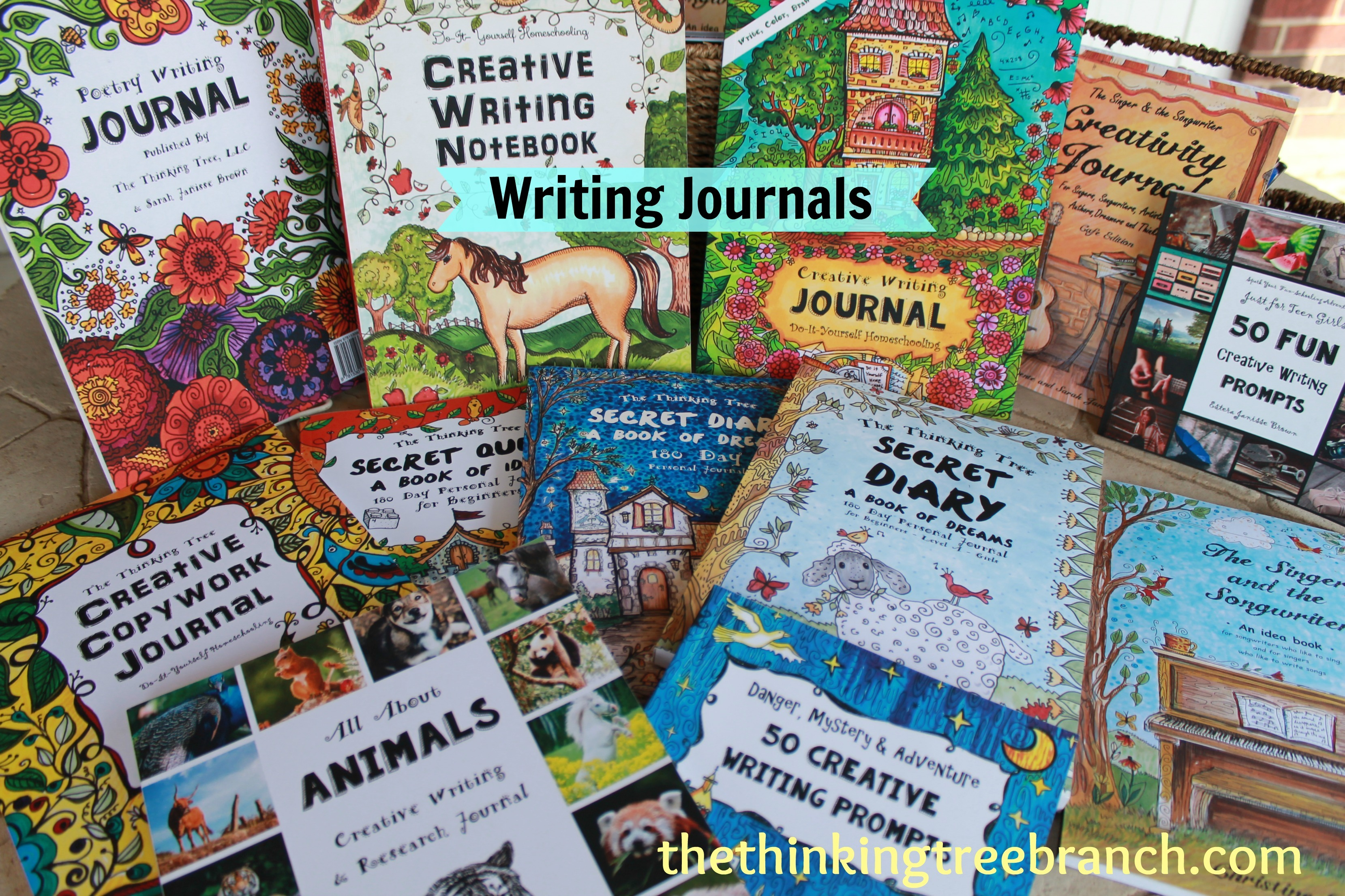 Writing journals the thinking tree branch thinking tree writing journals solutioingenieria Image collections